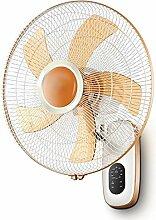 WANGFANG Wandmontierter elektrischer Ventilator,