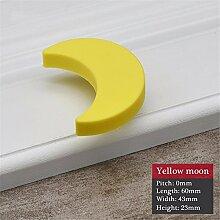 wangjian& Kinder Zimmer Knöpfe und Griffe Gelb
