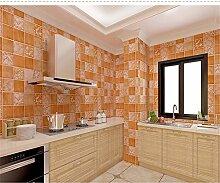 wangjian& Küche Bad WC Selbstklebende Mosaik