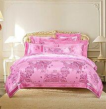 Wangjianfeng Bettwäsche Bettbezug Bettdecke Set 4