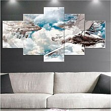 wangjingjing1 Leinwand malerei Film Fliegende