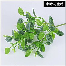 WANGLETA Künstliche Blumen Pflanze Gras grün