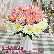WANGLETA Künstliche Blumen Rose Zubehör Seide