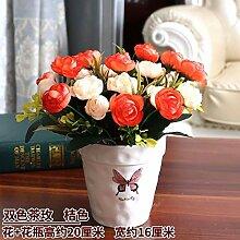 WANGLETA Künstliche Blumen Rose Zubehör
