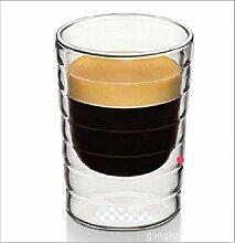 WANGN WANGNI Glas Totenkopf mit Griff Flasche