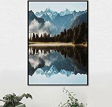 wangpdp Rahmenlose Leinwand Bild Nordischen Stil