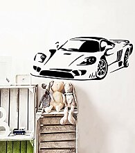 wangpdp Sport Auto Wandtattoo Art Vinyl Aufkleber