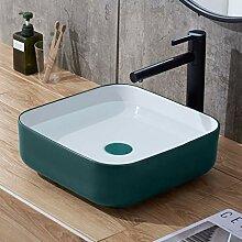 WangQ Badezimmer-Waschbecken, Keramik matte