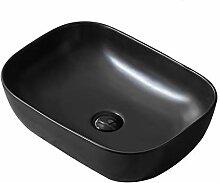 WangQ Badezimmer-Waschbecken, mattes keramische