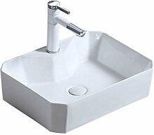 WangQ Badezimmer-Waschbecken, rechteckig