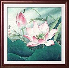 WANGS neue chinesische dekorative Malerei und Tinte Sofa Wandfarbe Schlafzimmer haben Wand-Boxen gemalt Restaurant-N 20*20in