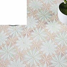WANGS PVC-Tischdecke für Tischdecke, Wasserfest, oil-proof burn-proof Einweg, europäischer Stil, rechteckig, J, 137x137cm(54x54inch)