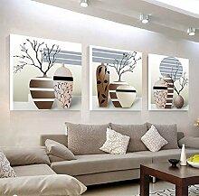 WANGS Wohnzimmer dekoration malerei dreifach