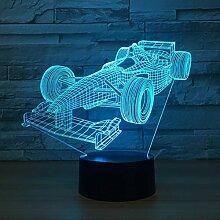 Wangshengchao Farbe des Auto-3D der Lampe 7