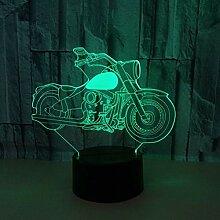 Wangshengchao Motorrad der Farbe 7 der Lampe-7