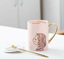 wangwei Kreative Tasse Büro Cartoon Paar Paar