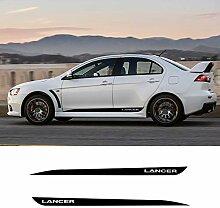 WANGXL Auto-Aufkleber FüR Mitsubishi Lancer GT,