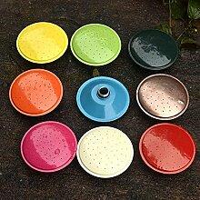 wangxn-Topf Bewässerung Metall verzinkt Aktivität Mundstück Mundstück Mund mit doppeltem Verwendungszweck Mund lange 4.9Liter small sprinkler Foto Farbe