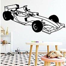 Wangyy Schöne Formel Auto Wandkunst Aufkleber