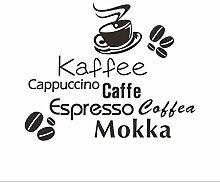 Wangyy Verschiedene Arten Von Kaffee Buchstaben