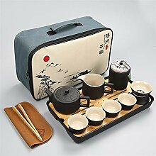 Wangzhi Carrying Aight Tee-Set aus Keramik, für