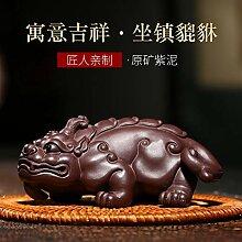 Wangzhi Chachongchawan-Skulptur, lila Ton Lila