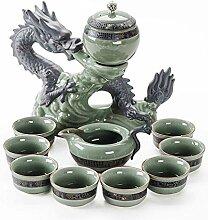 Wangzhi halbautomatisches Tee-Set Ru Ge