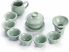 Wangzhi Kung Fu Tee-Set aus Keramik, für den