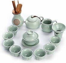 Wangzhi Kung-Fu-Tee-Set aus Keramik, für den