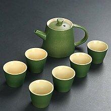 Wangzhi Tee-Set aus Keramik, Teeset von Tao Gongfu