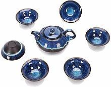 Wangzhi Tianmu Teelichter, Tee-Set 10 (Farbe: Jun