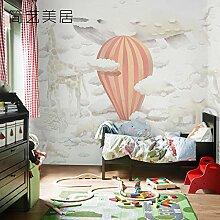 WANGZZZ Kinderzimmer Dekoration Tapete Mädchen
