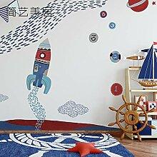 WANGZZZ Kinderzimmer Tapete Sternenhimmel Junge
