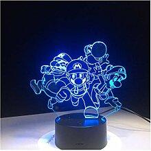 Wanjuna 3D Lampe Usb Acryl Super Geschenk Für