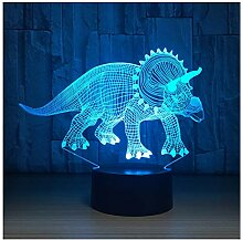 Wanjuna 3D Led Lampe Nachtlichter Neuheit Illusion