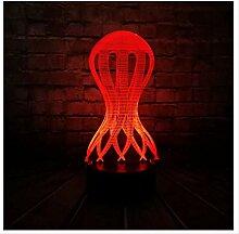 Wanjuna 3D Nachtlicht 3D Lampe Kinder Nachtlicht