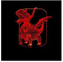 Wanjuna 3D Nachtlicht 3D Led Lampe Magische