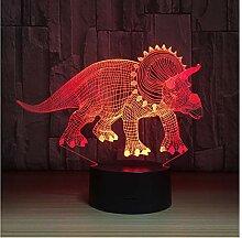 Wanjuna 3D Nachtlicht 3D Led Lampe Nachtlichter