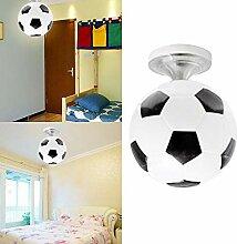 Wankd Fußball Deckenleuchte leuchtet,Kinderzimmer