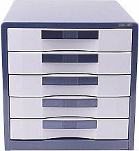 Wanli666 Metall Aufbewahrungsfächer Schreibtisch
