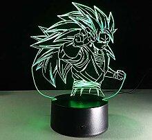 wanmeidp Statue Z Super Saiyan 3 Goku 3D