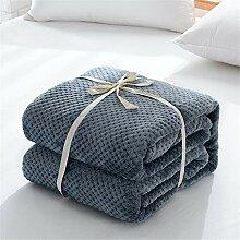 WANMT Wohn Kuscheldecken Coral Fleece Decke