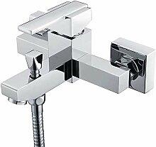 Wannen-Hahn Einfach Badezimmer-Dusche-Satz Kupfer