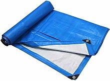 WANPB 4x8m Blaues Regendichtes Tuch Dicke