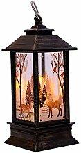 Wanshop Weihnachten LED Tee Licht Kerzen Für