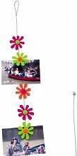 Wanted CN401AS Karten und Fotohalter Flowers Stahlseil