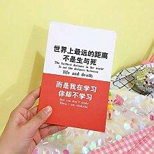 WanTo 3 stücke 50 Blätter Korea Kreative Lustige