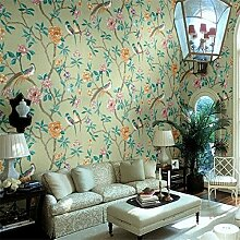 Wapea 3D Wall Paperlobby Ballsaal Tapete im chinesischen Stil Blumen Papel De Parede Para Quarto Wallpaper für Wände 3D Behang