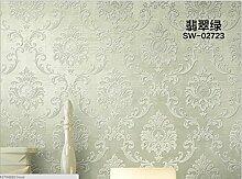 Wapea Ende Vintage European Environmental Nonwoven Wallpaper Hintergrundbild Das Wohnzimmer Tapete drucken Damaskus 02723