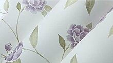 Wapea Goldschnitt Blume Vlies Tapete Livin Zimmer Schlafzimmer Tapete Hintergrund Restaurant Flur 6905